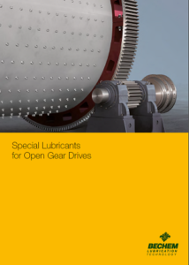 Special Lubricants for Open Gear Drives