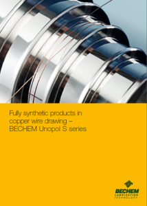 Copper wire drawing BECHEM Unopol S