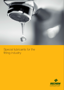 Special lubricants fitting industry