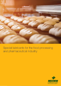 Special lubricants for the food processing and pharmaceutical industry